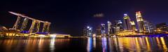 Singapore View (Yohsuke_NIKON_Japan) Tags: singapore d600 nikon 1635mm panorama wide marinabaysands marinabay asia