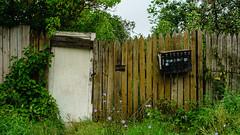 Aleksin city (AleksandrErmakov) Tags: fence gate wicket village