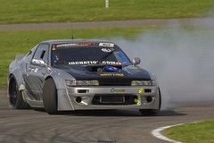 Anglesey Trac Drifter (Graham Peers) Tags: drifting car track anglesey skidder rear wheel drive smoke