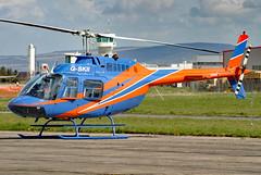 G-SKII (GH@BHD) Tags: gskii agusta agustabell bell bell206 bell206b jetranger egae eglington ldy londonderry cityofderryairport chopper helicopter rotor aircraft aviation