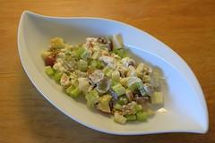 NOCheese!! (Tony Tooth) Tags: nikon d7100 nikkor 35mm f18g waldorf salad waldorfsalad celery apple walnut grapes mayonnaise food stilllife
