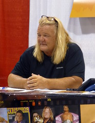 Greg Valentine (GabboT) Tags: world city celebrity hammer book comic greg expo suburban wrestling detroit valentine entertainment convention motor comiccon con wwe federation wwf showplace 2015 gregvalentine