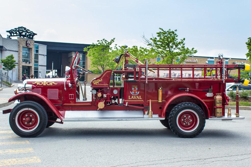 Camion de pompiers 1932 Firetruck