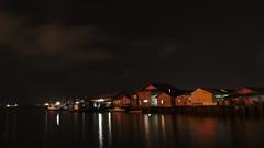 Floating Village of Margasari (jipan) Tags: beach village borneo balikpapan
