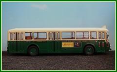 Autobus Parisien SOMUA OP5-3 (Profil) 1/43 (xavnco2) Tags: bus 1955 model autobus 56 ratp ligne 442 143 diecast parisien stadtbus hachette op5 somua modlesrduits op53