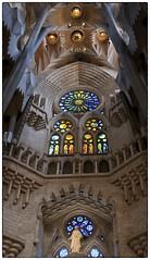Barcelona Sagrada Familia (chabish123) Tags: barcelona familia spain fuji gaudi sagrada lightroom colorefexpro xpro2 hdrefexpro