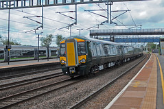 387 on test. (Lee3019) Tags: bombardier rail class 387 west coast mainline test train uk rugeley trent valley new rolling stock