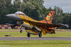Belgian F-16A Fighting Falcon, RIAT 2016 (harrison-green) Tags: raf usaf usafe lakenheath united states royal air force fighter jet stealth suffolk pl outdoor canon 700d sigma 18200mm riat international tattoo 2016 fairford shgp steven harrisongreen f35a lighting ii 2 f35 jsf joint strike f22 f22a raptor vehicle aircraft f35b airplane f16a f16 belgian belgium 31 squadron tiger meet