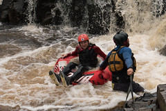 plucked from the jaws of desperation (danwilson10) Tags: sony alpha a6300 apsc apcs 50mm prime river rafting white water outdoors motor bike cave waterfall