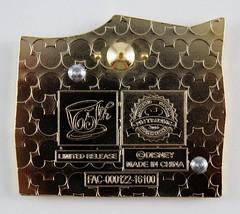 Alice in Wonderland 65th Anniversary Puzzle Mystery Set - Disneyland Purchase - Tweedledum and Tweedledee - Closeup Rear View (drj1828) Tags: us disneyland dlr dl60 pin disneypintrading purchase 2016 limitedrelease aliceinwonderland 65th anniversary puzzle set mystery conceal