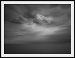 time and motion (Andrew C Wallace) Tags: portphillipbay halfmoonbay blackrock melbourne victoria australia ir infrared olympusomdem5 microfourthirds m43 blackandwhite bw sea seascape wind waves longexposure motionblur slowwater clouds cloudscape time channel marker theworldthroughmyeyes timeandmotion