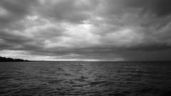 just before (Franky2step) Tags: stormy lakeontario portdalhousie xt1 fujifilmxf14mmf28r fujixt1