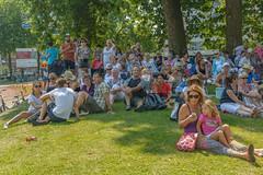 shady crowd (stevefge) Tags: nijmegen vierdaagse nederland netherlands nederlandvandaag reflectyourworld people girls candid street watchers summer