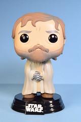 Funko Pop! Luke Skywalker bobble-head (FranMoff) Tags: starwars lukeskywalker funko bobbleheads funkopop