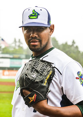 Yordy Alejo (lakemonsters2015) Tags: yordy alejo yordyalejo pitcher vermont lake monsters vermontlakemonsters