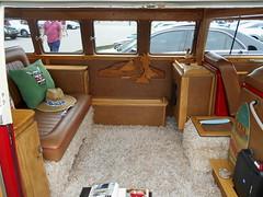 1964 Volkswagen Transporter (splattergraphics) Tags: 1964 volkswagen transporter interior bus vw custom volksrod carshow beersgears delawarepark wilmingtonde