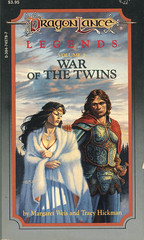 Novel-Weis&Hickman-War-of-the-Twins (Count_Strad) Tags: dragons adventure elf fantasy novel dungeons tsr dragonlance