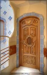 Casa Batll Doors 1 (GarryBoggan) Tags: barcelona door espaa spain gaud casabatll espanya antonigaud nikond600 garryboggan