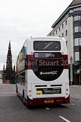 Lothian Buses 207 | SN61 BBK (MSDC43) Tags: buses for edinburgh transport 400 hybrid lothian enviro 207 400h sn61bbk