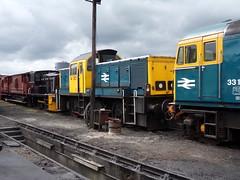 CVR 14901, 33102 SOPHIE (johnwebb292) Tags: diesel class 14 33 14901 33102 sophie brcw churnet