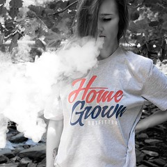 Home Grown Outfitters (Mary-Mel Knight) Tags: homegrown unlimitedphotos photoshoot photoshopped blackwhiteportrait persona vape