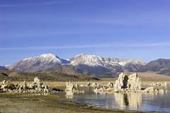 Lake Tufa Peak (fate atc) Tags: california leeviningpeak monolake pinkfloyd thegreatbasin tufa usa alkalinelake endorheicbasin