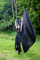 IMG_1736p (ScarletPeaches) Tags: fairy pixiefaerie fae isiswings fantasy outdoors bethw goth blackdress