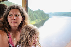 brecon - mummy caitlin on train (grahamdale74) Tags: alyssia caitlin chel roy joan mum dad 2016 south wales