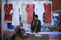 Tailor Shop in Rawalpindi (Akhuwat BPP) Tags: rawalpindi pakistan interest free loans microfinance entrepreneurship pakhtoon ordinary people small business akhuwat ladies cloth haute couture dresses design clothes