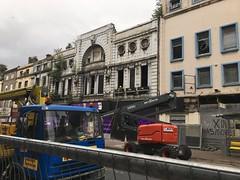 Futurist Cinema, Lime Street, Liverpool (Dradny) Tags: limestreet demolition liverpool futuristcinema