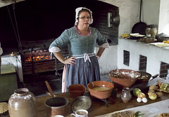 Colonial Williamsburg Virginia GOVERNORS PALACE  kitchen  scullery (watts_photos) Tags: colonial williamsburg virginia governors palace kitchen scullery cooking iso 6400 food fire cook cooks 22 22mm