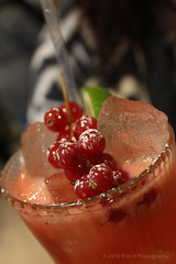 Raspberry Marciano (Kim H Photography) Tags: raspberry marciano cocktails alcohol macro closeup sweet sugar ice fruit drink