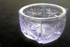 Pale Blue Salt (mudder_bbc) Tags: glassware collecting collections saltcellars salts saltdips opensalts standingsalts saltdishes servingdishes condiments blue iridescent