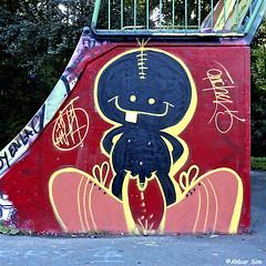 Den Haag Graffiti (Akbar Sim) Tags: denhaag thehague agga holland nederland netherlands zuiderpark graffiti akbarsim akbarsimonse