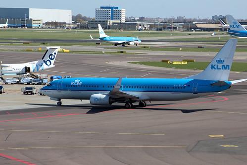 PH-BXF Boeing 737-8K2/W KLM Royal Dutch Airlines