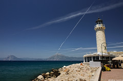 Lighthouse (solerab) Tags: lighthouse greece patra peloponnese peloponnisos