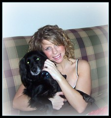 Jenny Farren and Rebel (photosbysusan!) Tags: pets rebel jenny 200712