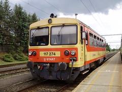Zalaegerszeg (mostlybytrain) Tags: train hungary railway loco railcar locomotive mav hungarian lok railbus gysev
