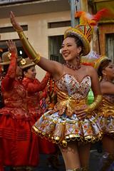 morenada, pura devoción/pasión (payorivero) Tags: nikon bolivia lapaz baile danzas bailes dances 2015 folcklore granpoder morenada catedraticos nikond3100 entradafolcklorica