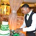 "Groom cutting cake slice • <a style=""font-size:0.8em;"" href=""http://www.flickr.com/photos/131351136@N06/18459219758/"" target=""_blank"">View on Flickr</a>"