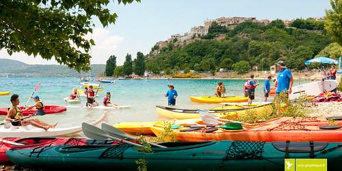 Sainte-Croix du Verdon, Alpes de Haute-Provence | Nautilac, fête du nautisme.