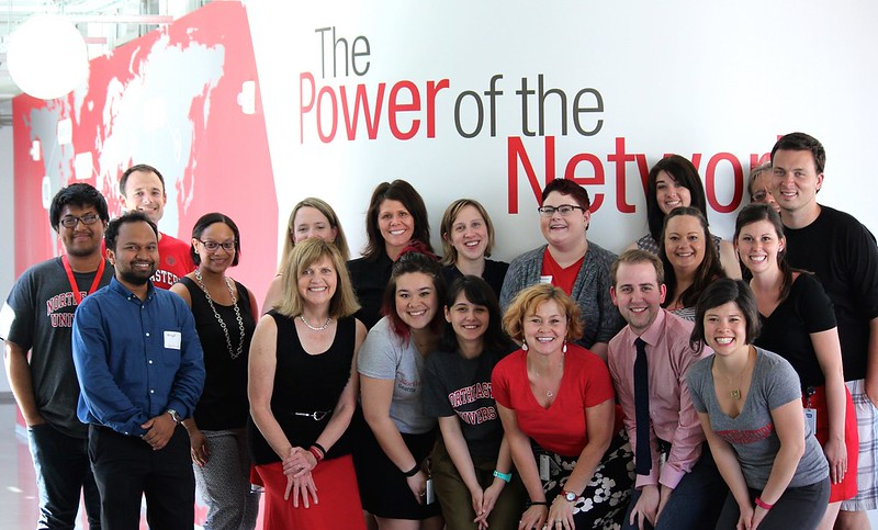 Northeastern Staff at the 2015 Open House