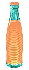 Orange Soda (scratchmark) Tags: orange soda illustration linocut crush orangina fanta shasta welchs sunkist citrus pop