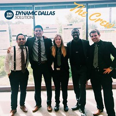 Dynamic Dallas Solutions would like to introduce our crew! Currently, they are out in Atlanta cross-training with other industry leaders. We're all about the opportunity to grow and travel! #DDS #SuccessStories (dynamicdallassolutions) Tags: marketing dallas dynamic jobs events solutions reviews promotions careers dds