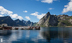 Hamnya, Lofoten (c3nes) Tags: arctic summer july nordland snowonmountaintops island mountains vestfjorden lofoten buildings hamny boats fishingvillage sailboat sea norway canoneos5dmarkiii fishingboat idyllic c3nes lofotenarchipelago moskenesya norge olstinden vegardstrenes hamnya beautifulview reine olstindneset moskenes mountain no