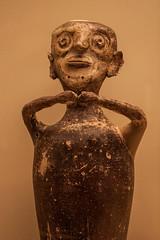 Ceramic figurine, Archaelogical Museum, Mycenae (Andy Hay) Tags: 2016 archaelogicalmuseum argolis ceramic figurine greece lightroom mycenae argolida peloponnisosdytikielladakeionio