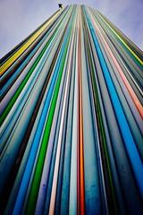 Street art - La Defence (Arianna PH) Tags: magia colori tubi art arte parigi defance
