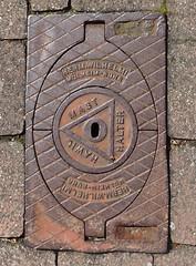 Bad Nauheim Sprudelhof (aaldersa) Tags: mast manhole ruhr halter herm badnauheim wilhelmi putdeksel mhlheim sprudelhof hawil