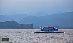 Lago di Garda / Lake Garda (Torbjrn Tiller) Tags: ferry garda lakegarda lagodigarda