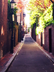 Red Streets (lgoub) Tags: boston massachussets travelphotography travel beaconhill neighborhood
